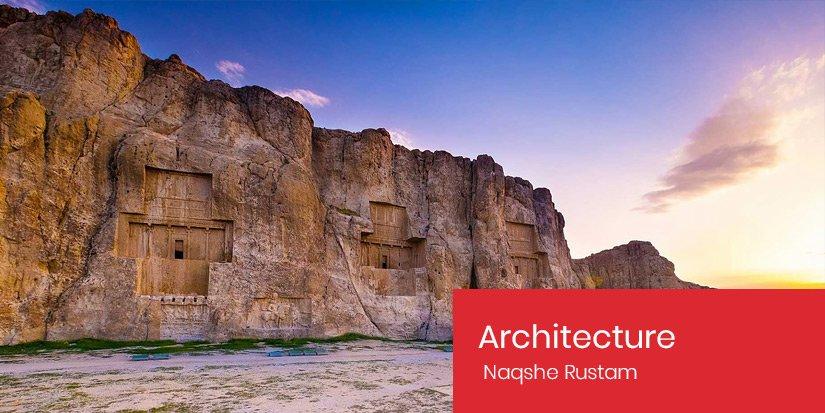 Persian Architecture - Naqshe Rustam