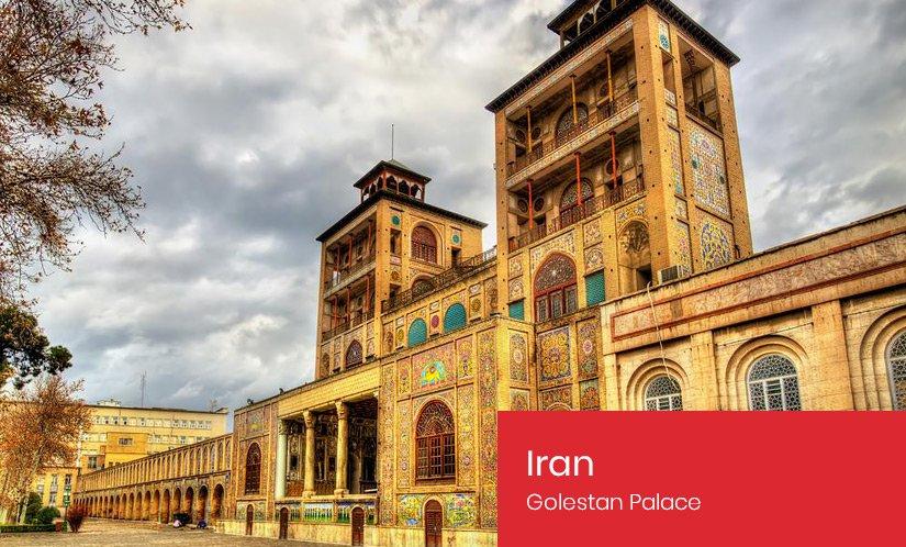 Iran's Golestan Palace