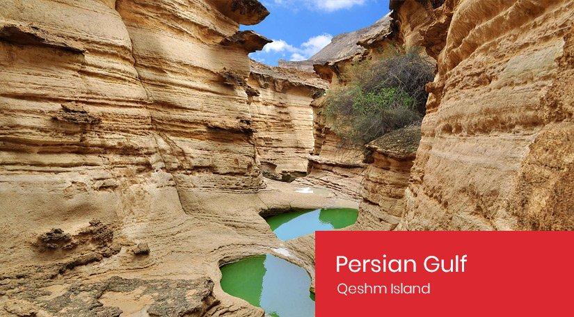 Persian Gulf - Qeshm Island